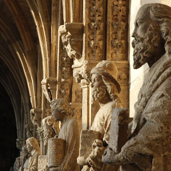 Camino de Santiago - statues