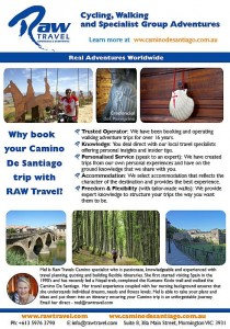 Walking and Cycling Camino De Santiago RAW Travel