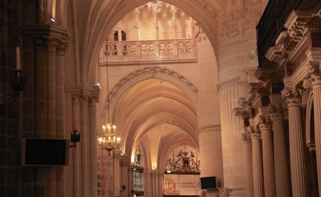 Burgos Cathedral arches