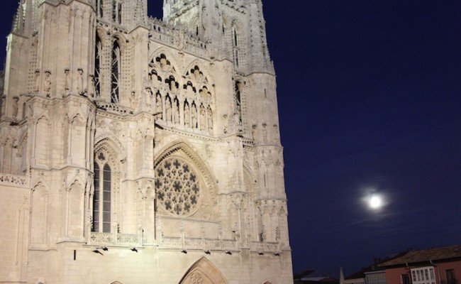 Cathedrral by night
