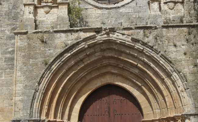 Church door, Castrojeriz